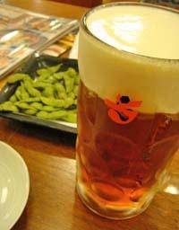 残念会でのビール